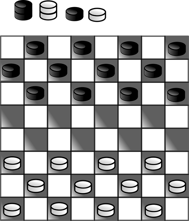 Games black and white. Game clipart game piece