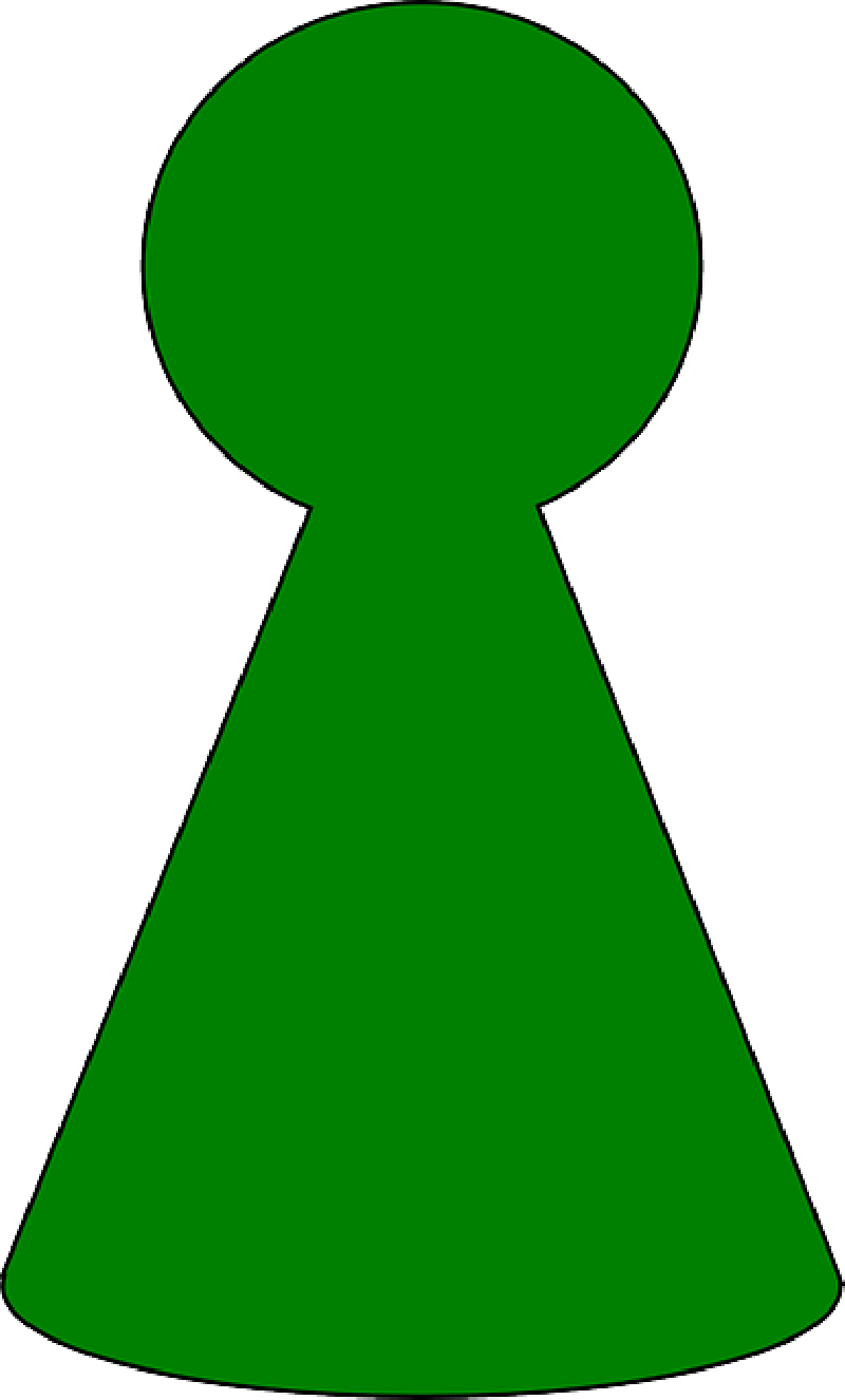Board pieces clip art. Game clipart game piece