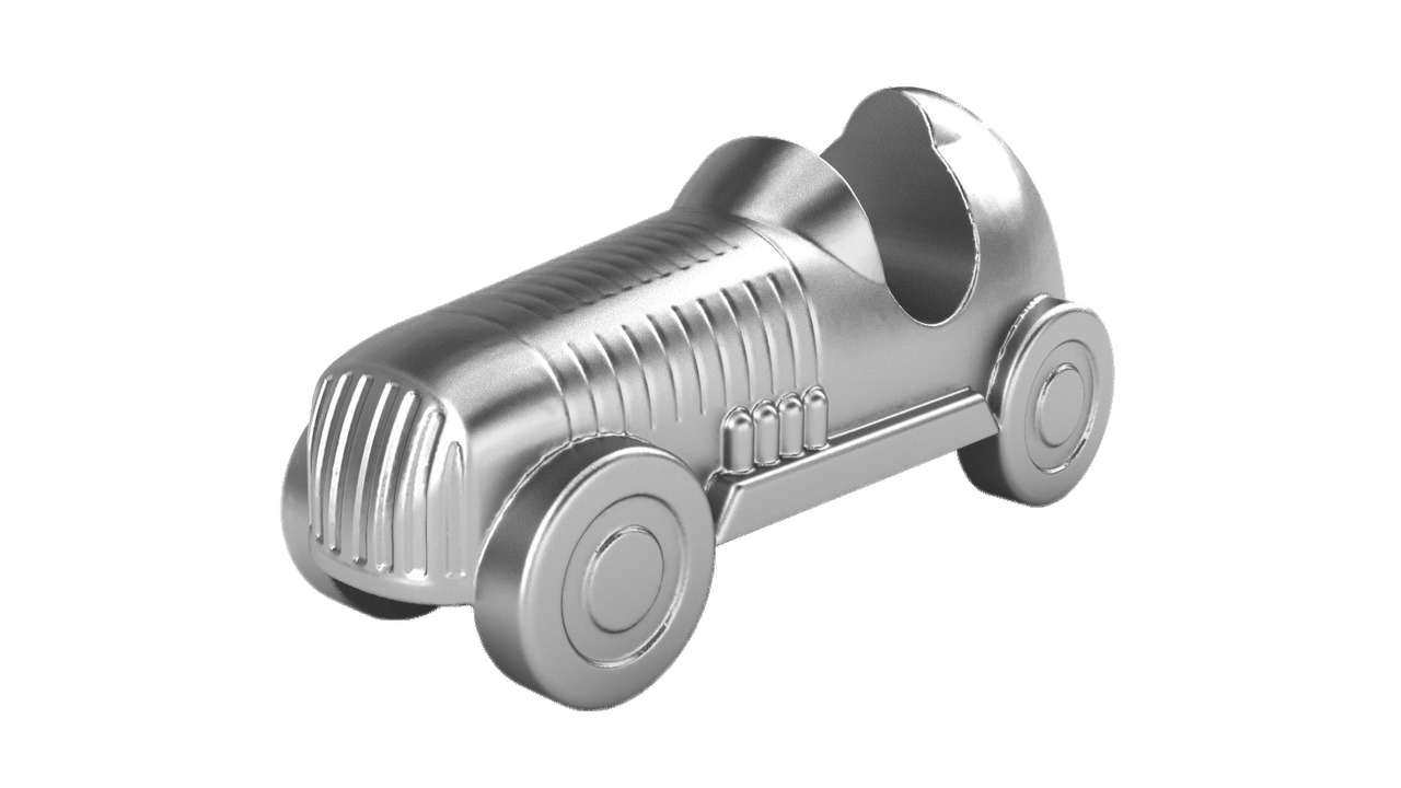 Game clipart game piece. Monopoly car transparent png