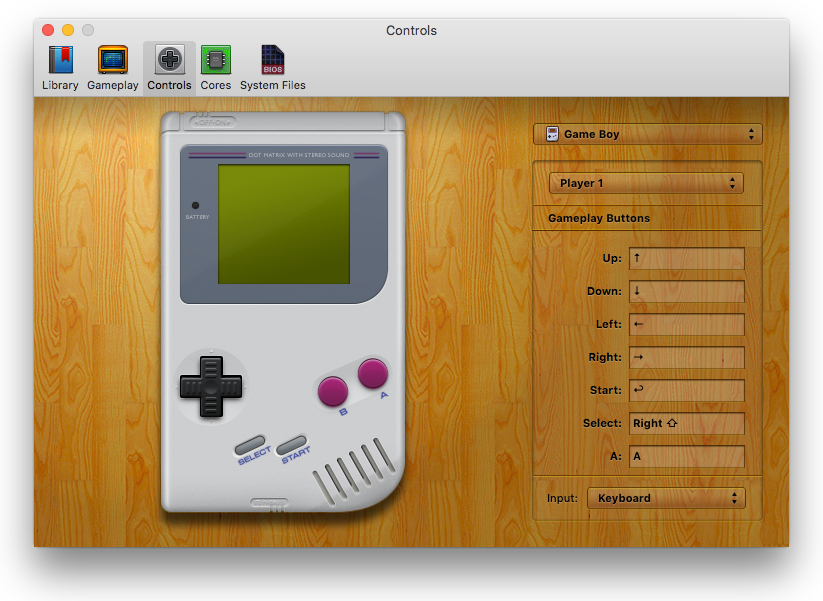 Game clipart gameboy. Openemu multiple video system