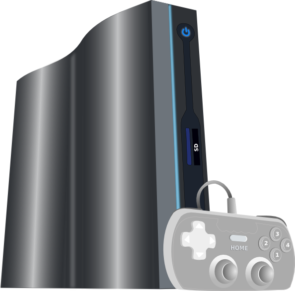 Gaming clipart game console. Clip art at clker