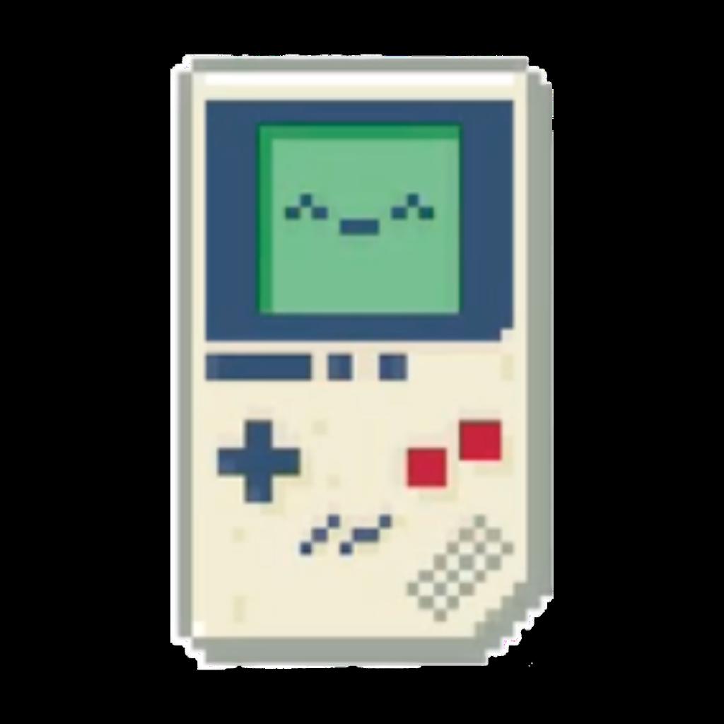 Bit sticker by hello. Game clipart gameboy