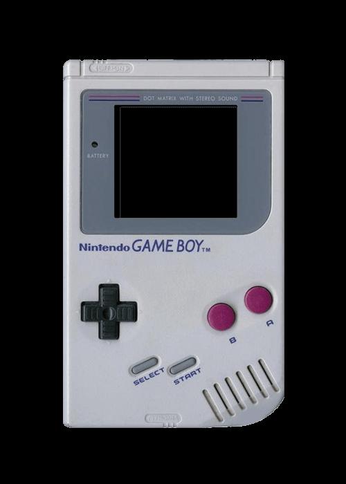 Vintage gameboy transparent png. Games clipart handheld