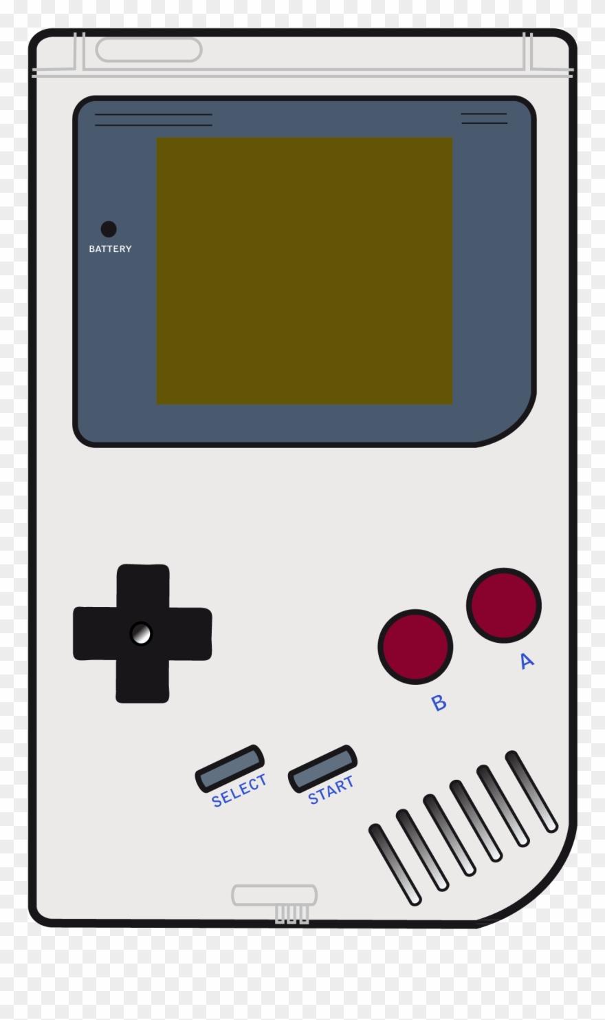 Game boy png art. Games clipart gameboy