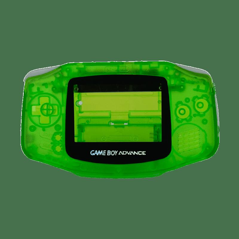 Game clipart gameboy. Boy fluorescent green transparent