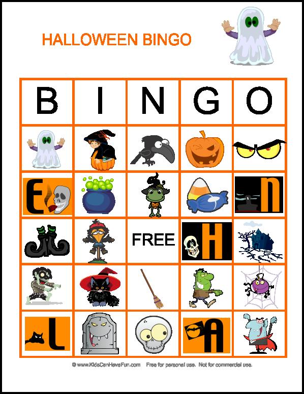 games clipart halloween