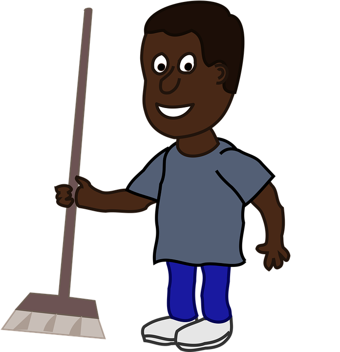 Game clipart halo. Cartoon janitor shop of