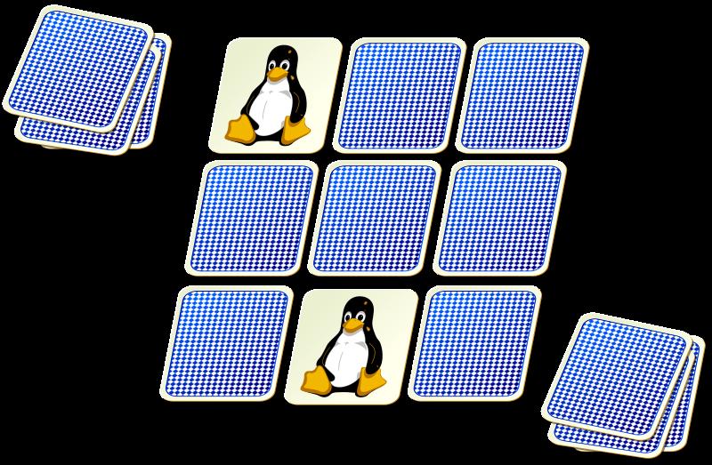 Pexeso card medium image. Game clipart memory game
