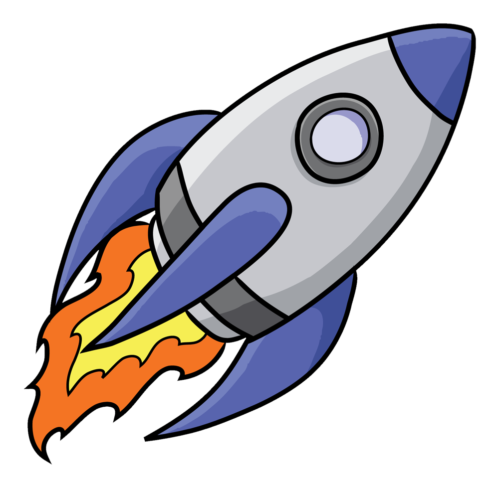 Spaceship clipart printable. Launching modern photography group