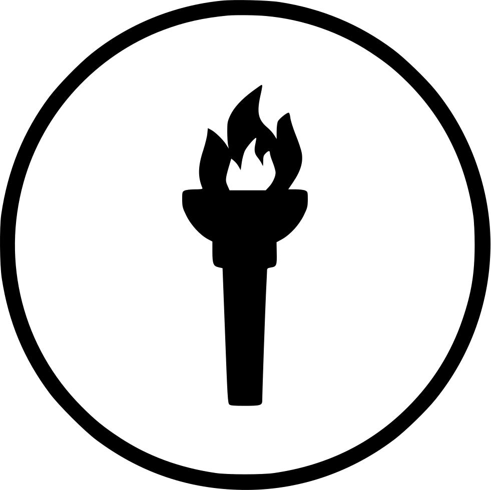 Olympic light torch
