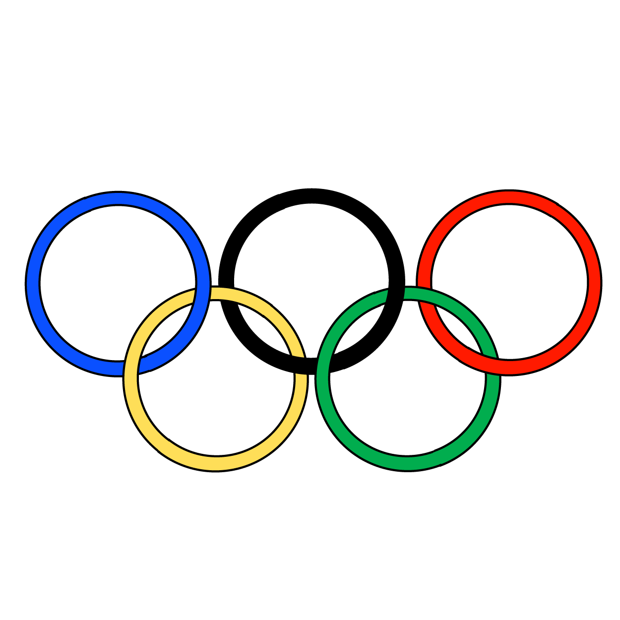 Summer olympics educational resources. Line clipart line segment