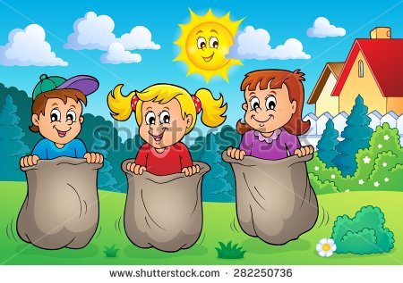 Game clipart out door. Free outdoor games cliparts