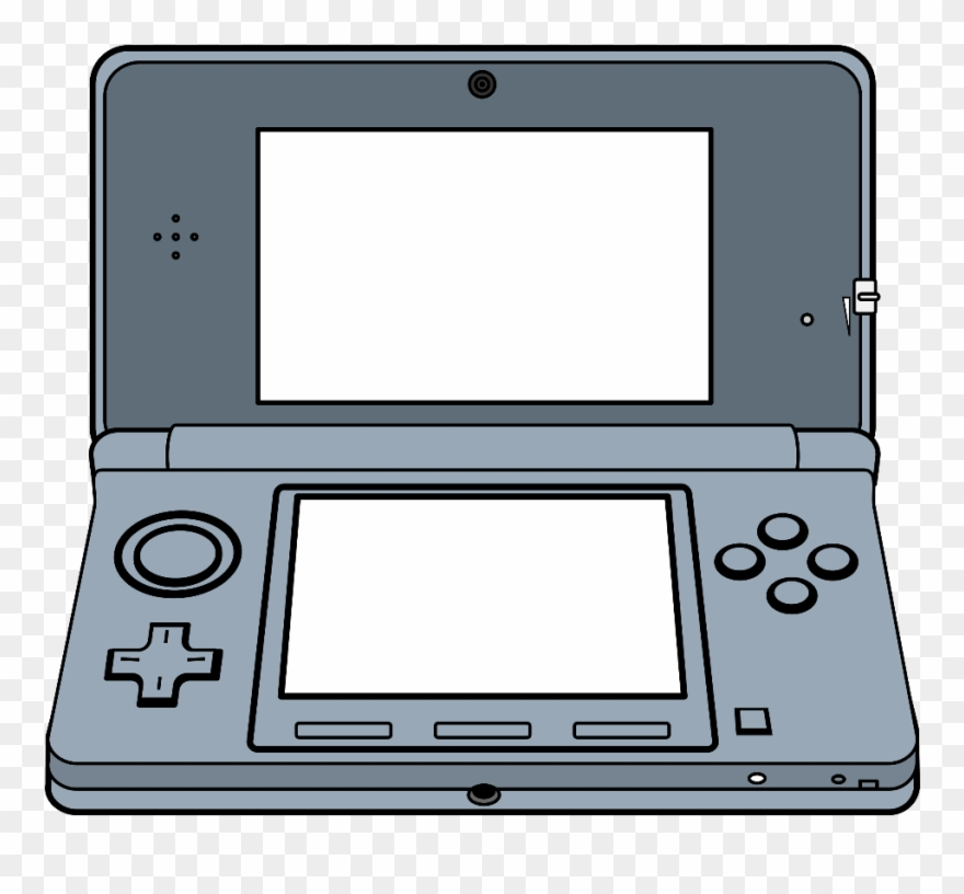 Game clipart portable. Handheld d system video