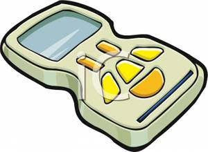 Image a small video. Game clipart portable