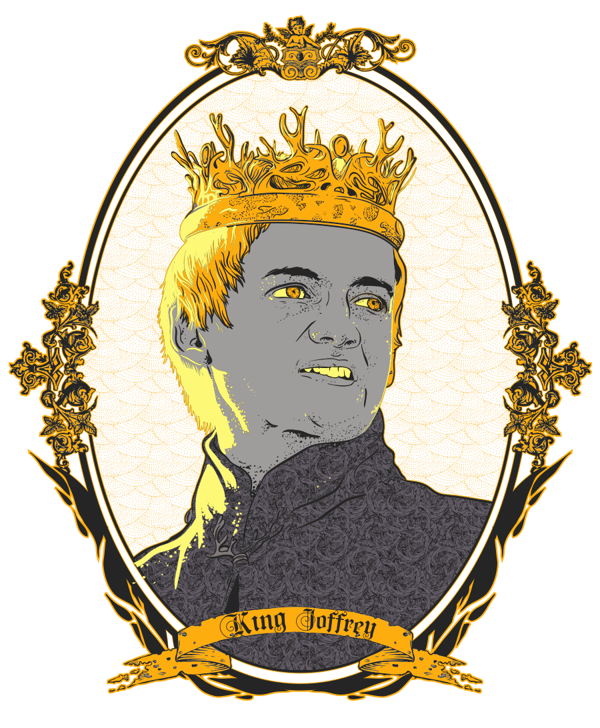 king clipart seated