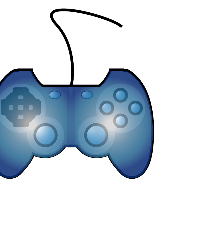 Joypad medium image png. Game clipart remote