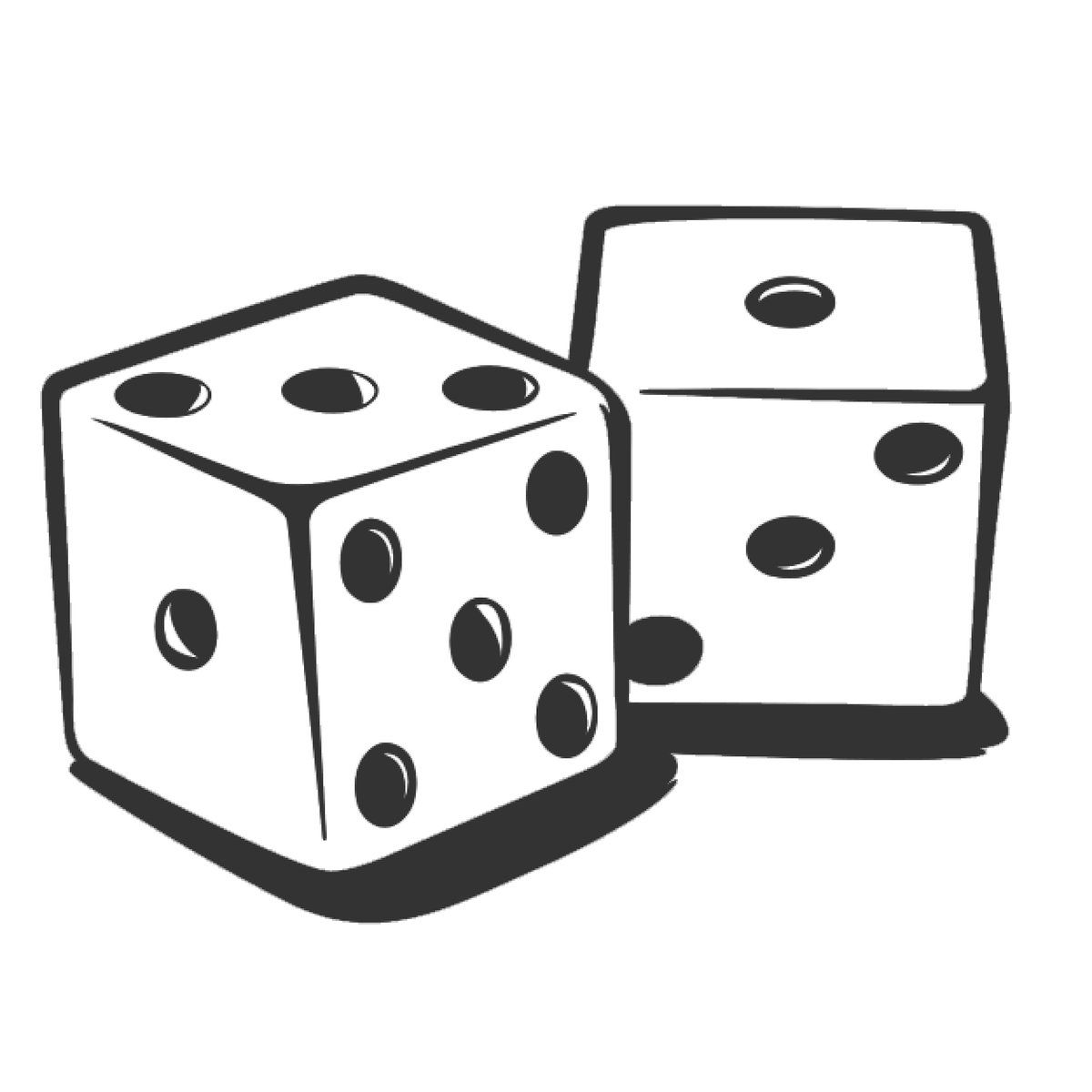 Gaming clipart roll dice. Frames illustrations hd