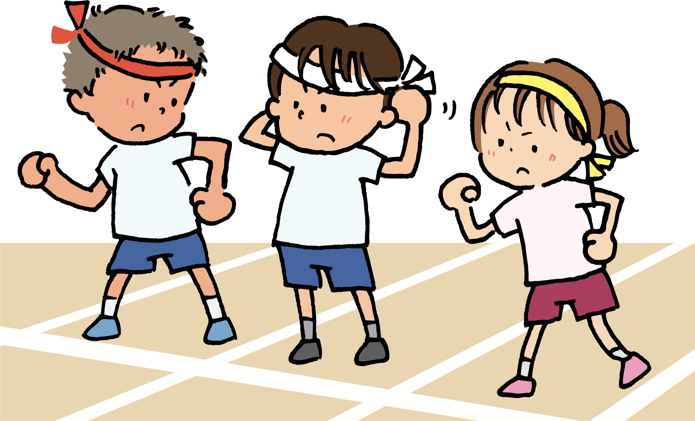 Race clipart kid race.  collection of starting