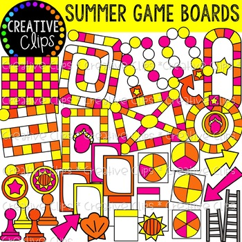 Board . Game clipart summer game