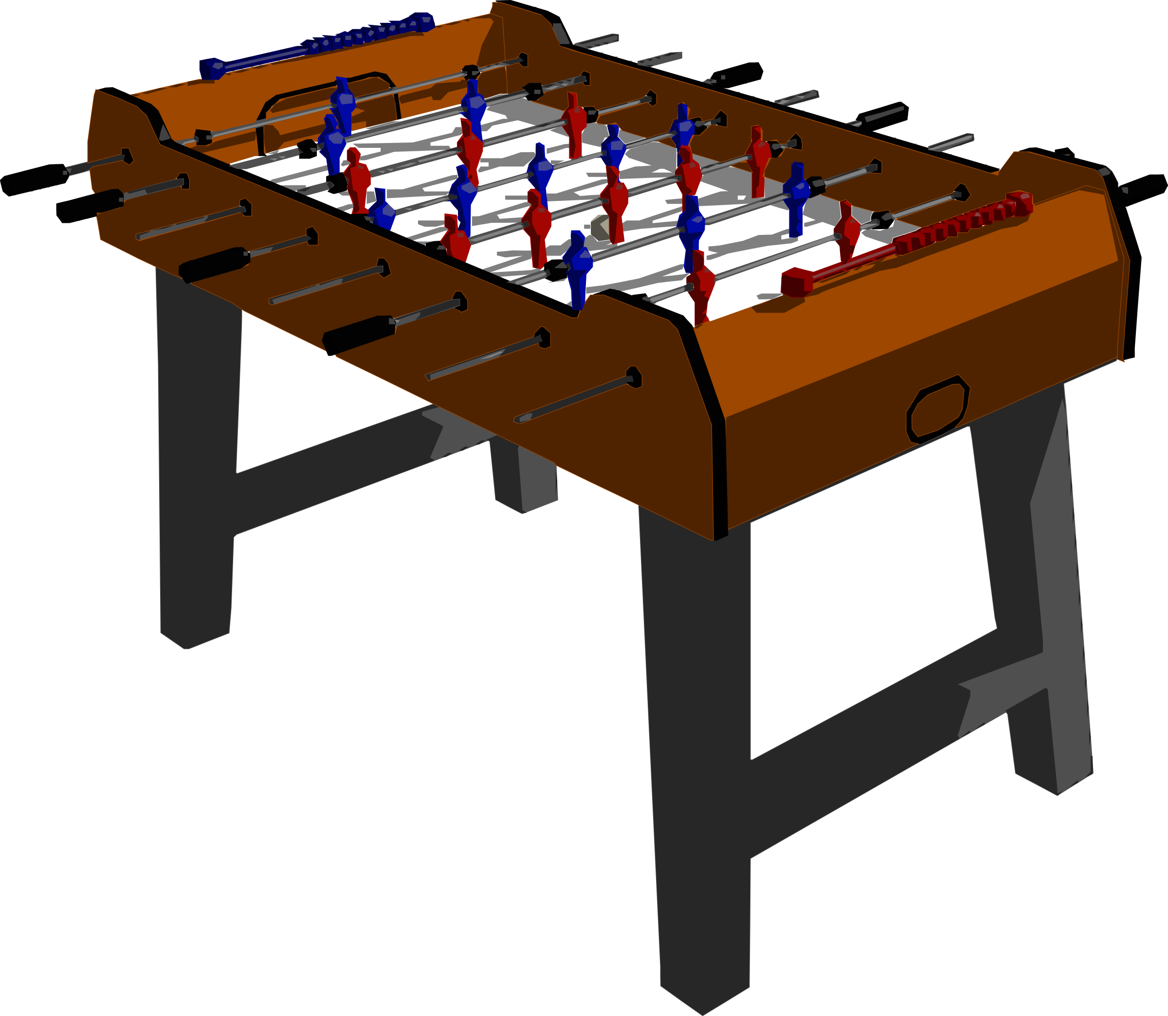 Game clipart table game. Foosball clip art ping