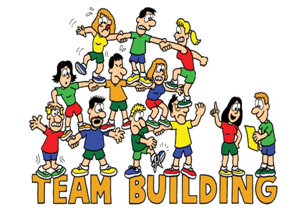 Teamwork clipart team game. Building games