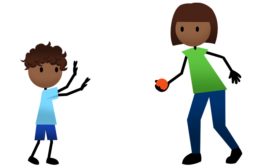 collection of throwing. Games clipart throwball