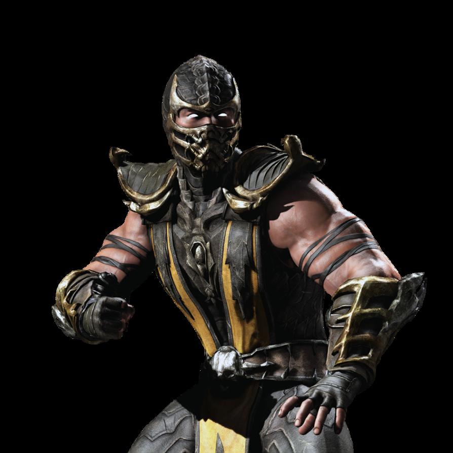 Mkx ios scorpion render. Games clipart tournament