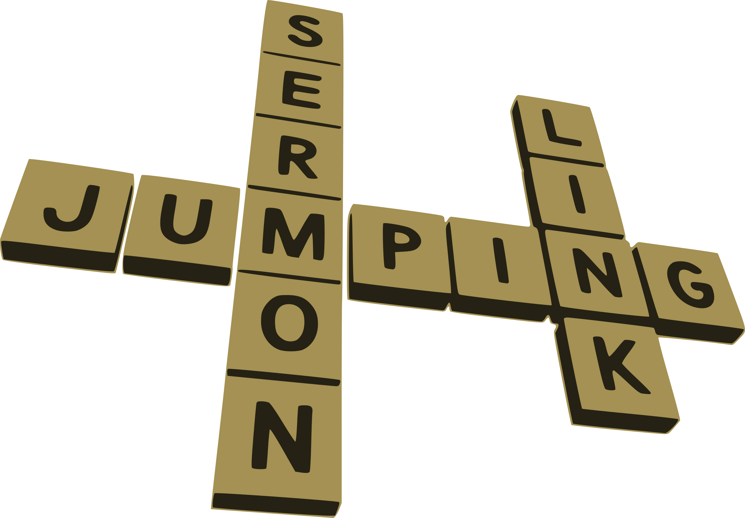 games clipart word
