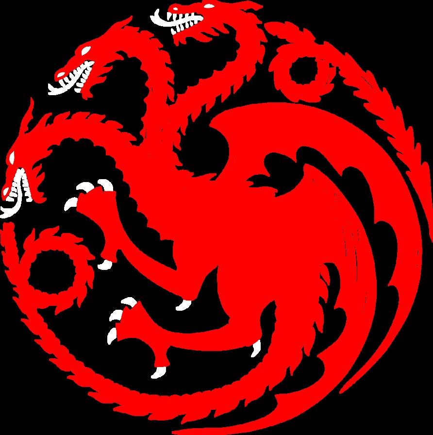 Targaryen by azraeuz on. Game of thrones house sigils png