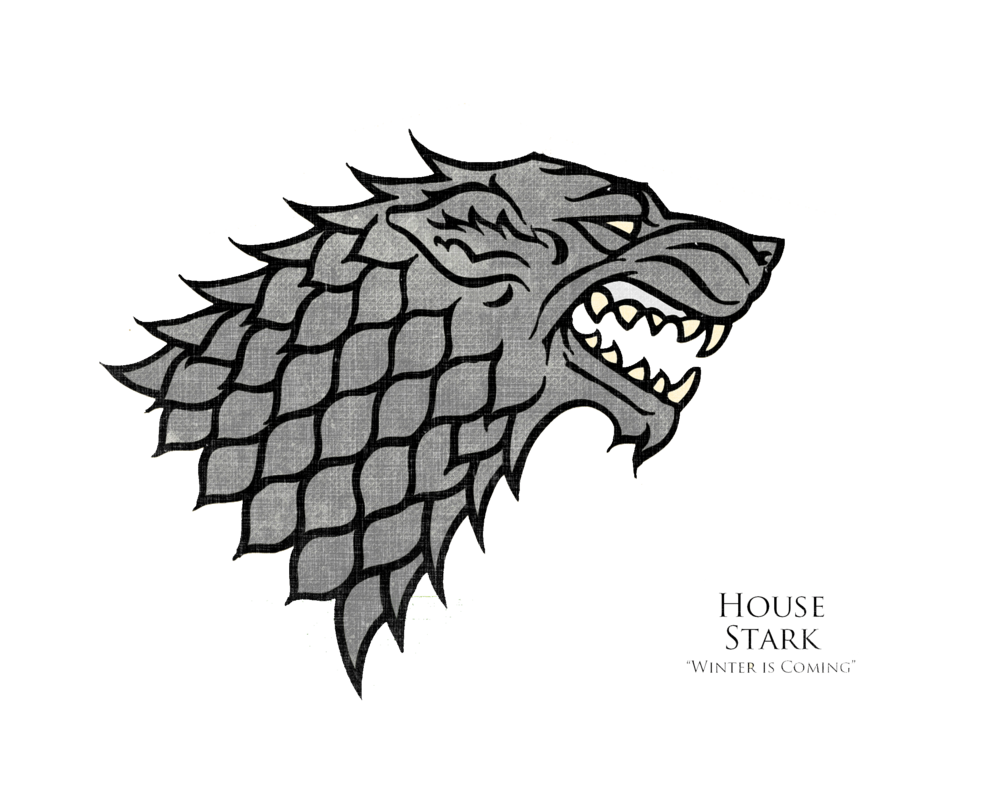 Game of thrones house sigils png. Stark by jdrincs on