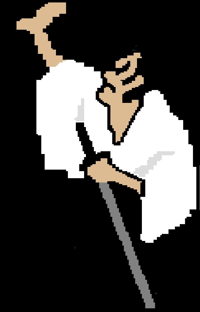 Image samurai png rhythm. Games clipart 8 bit