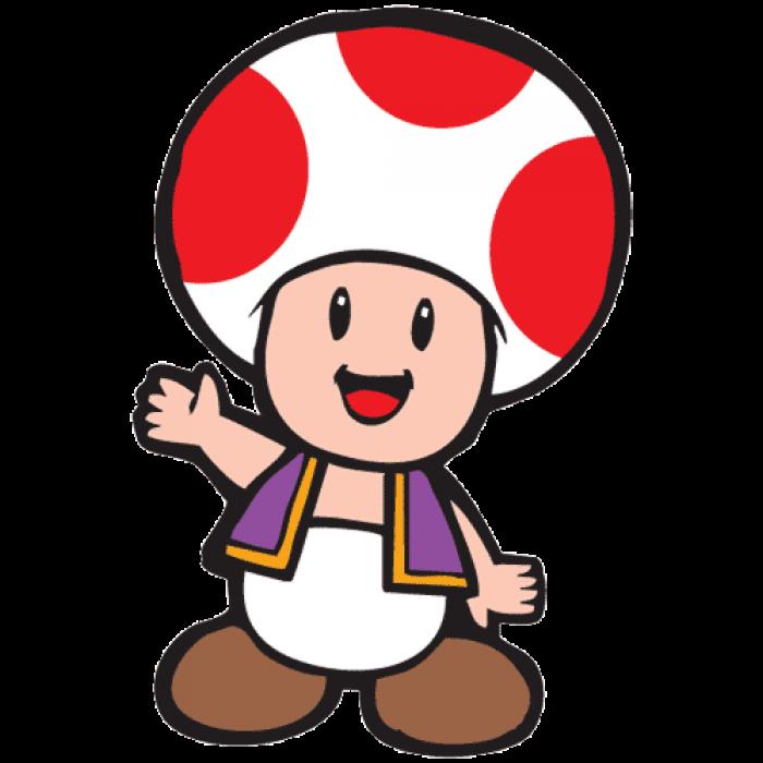 Games clipart arcade. Toadstool mascot