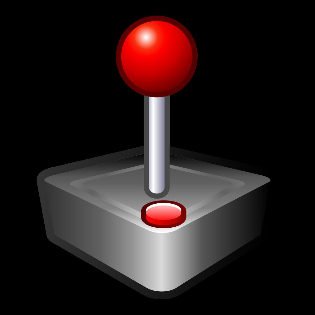 File gnome joystick svg. Games clipart arcade