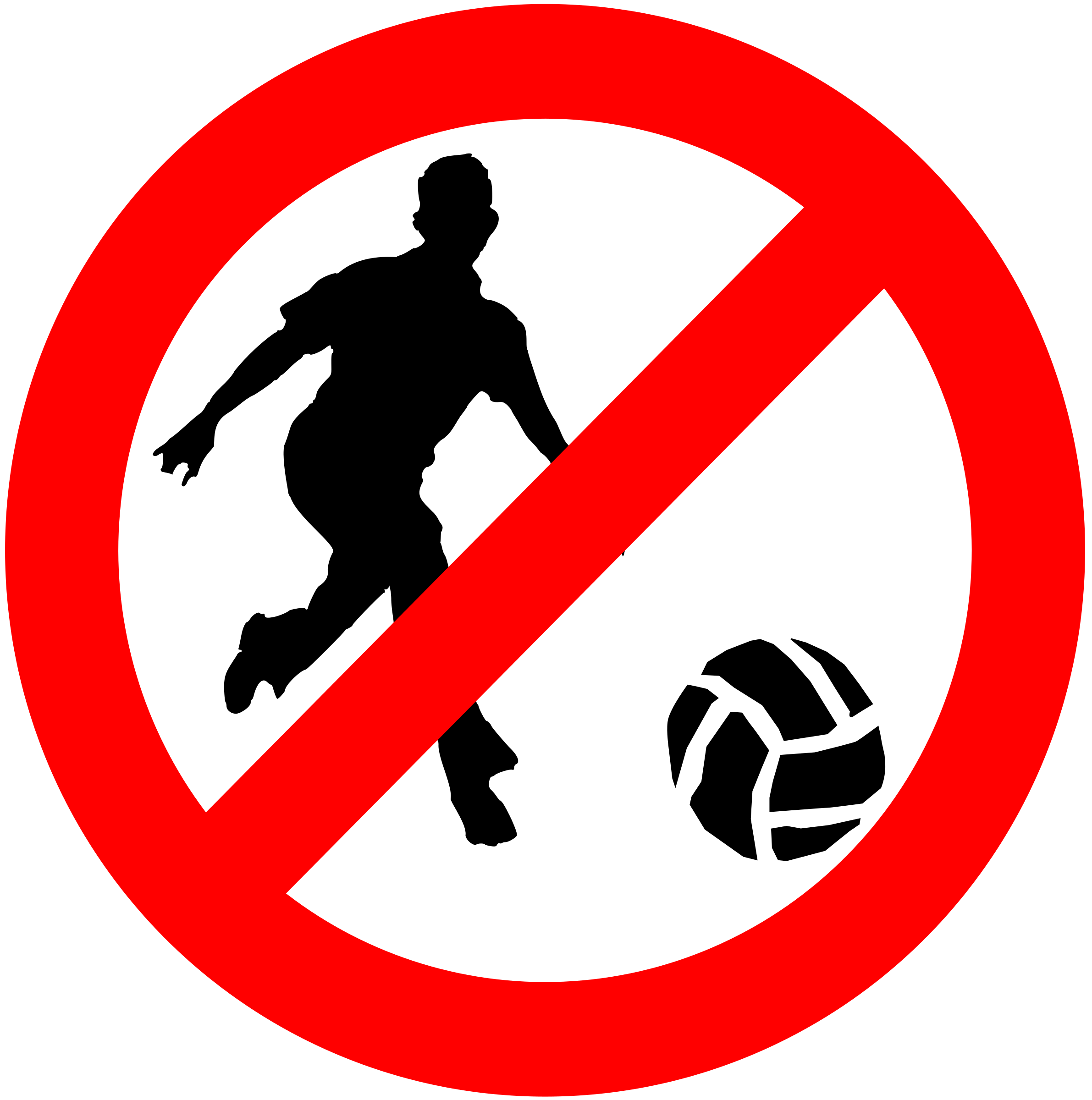 Prohibit big image png. Games clipart ball