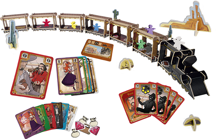 Colt express could be. Games clipart board game
