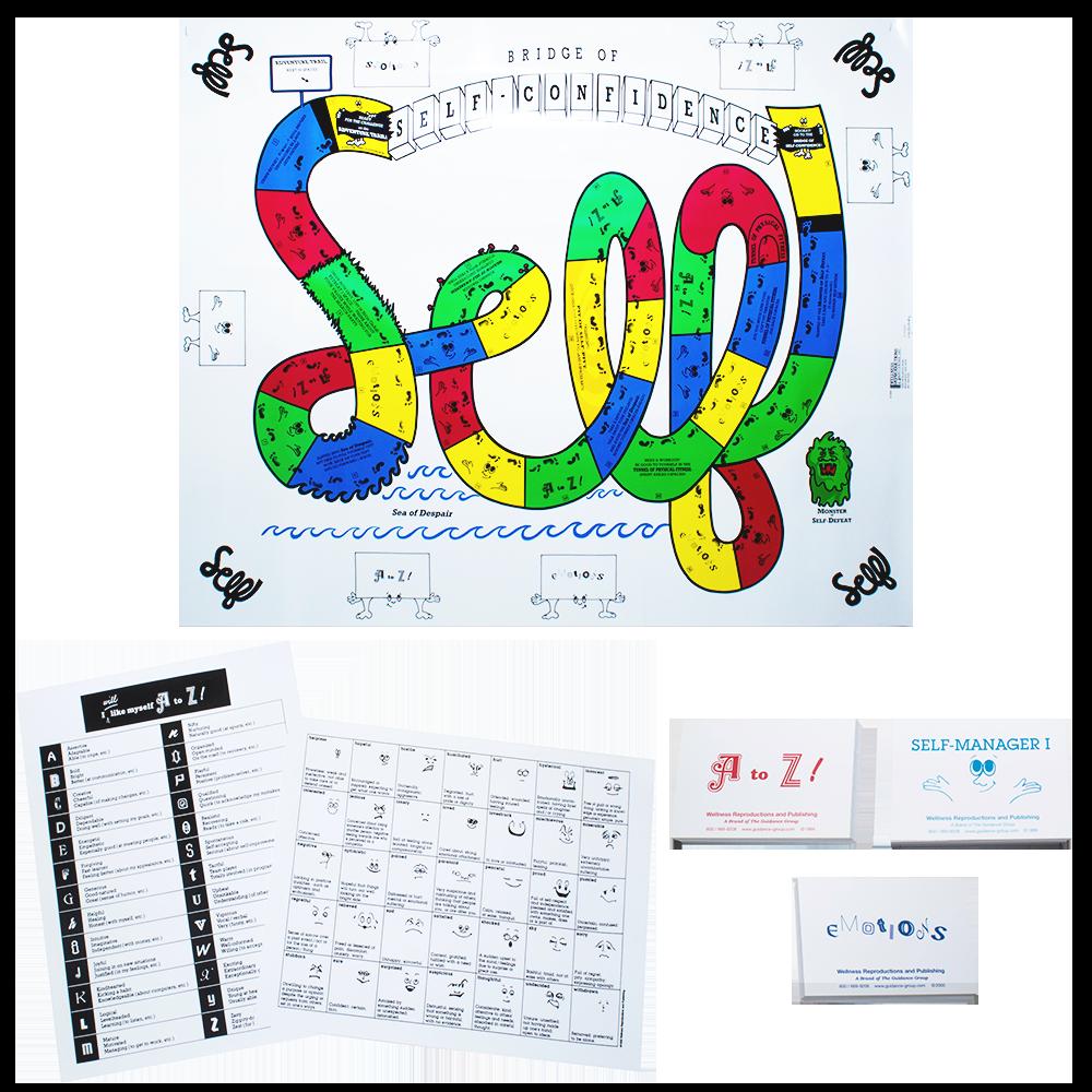 Games clipart bridge game. Of self confidence teen