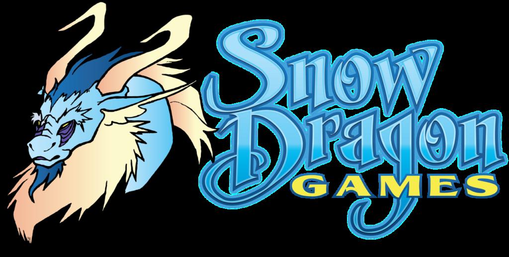 Snow dragon bringing people. Games clipart fair game