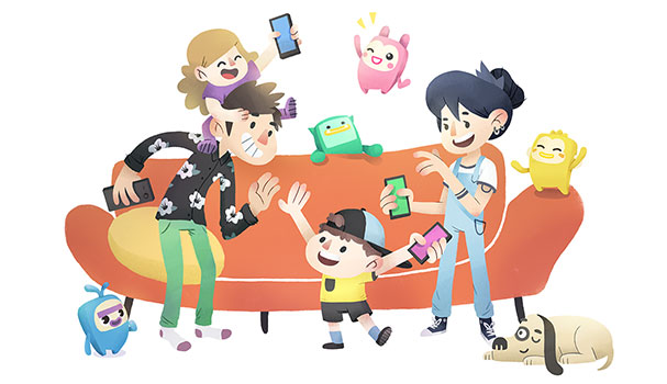 Games clipart friendly kid. Family are a perfect