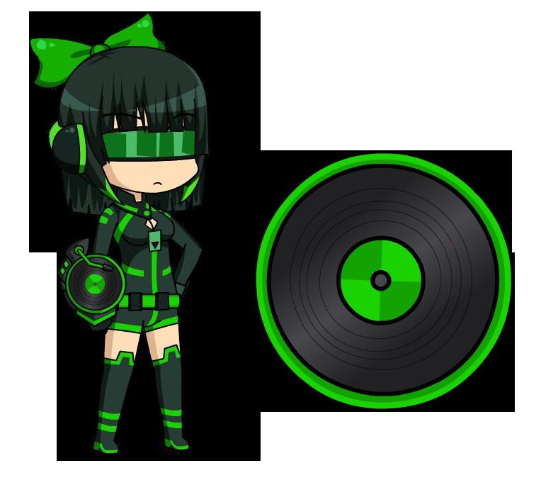 Gaming clipart game spinner. Dj clover anime fidget