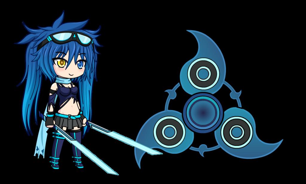 Gaming clipart game spinner. Niero garnetta anime fidget