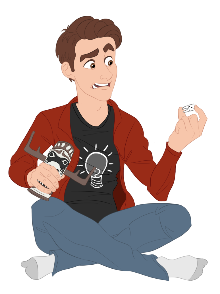 Games clipart game theory. Scary friday wip matpat