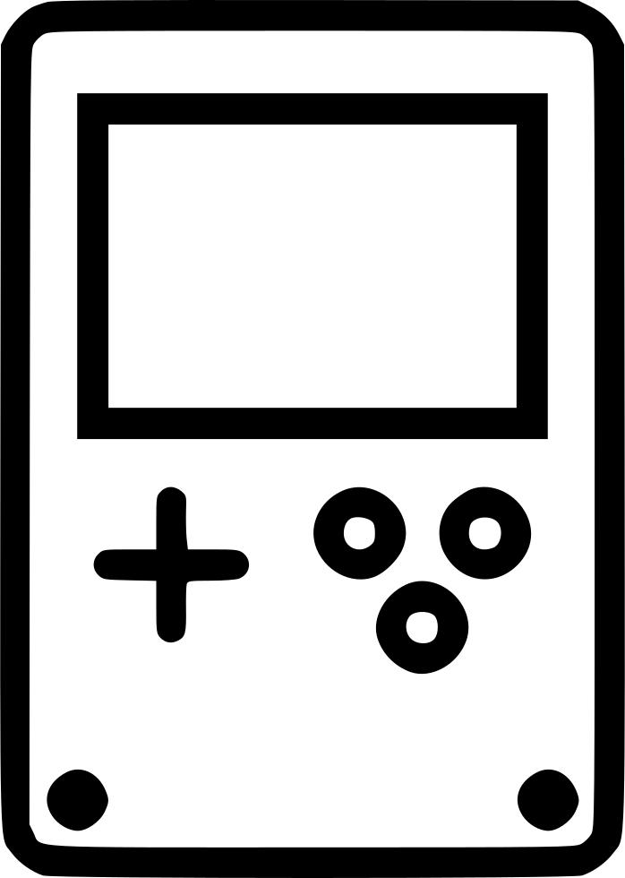 Games clipart gameboy. Console game nintendo fun