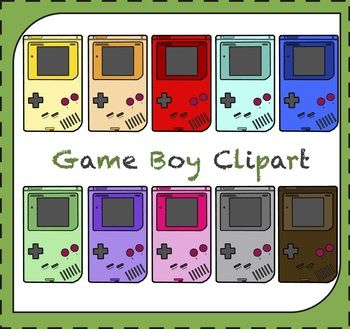 Video game christmas . Games clipart gameboy