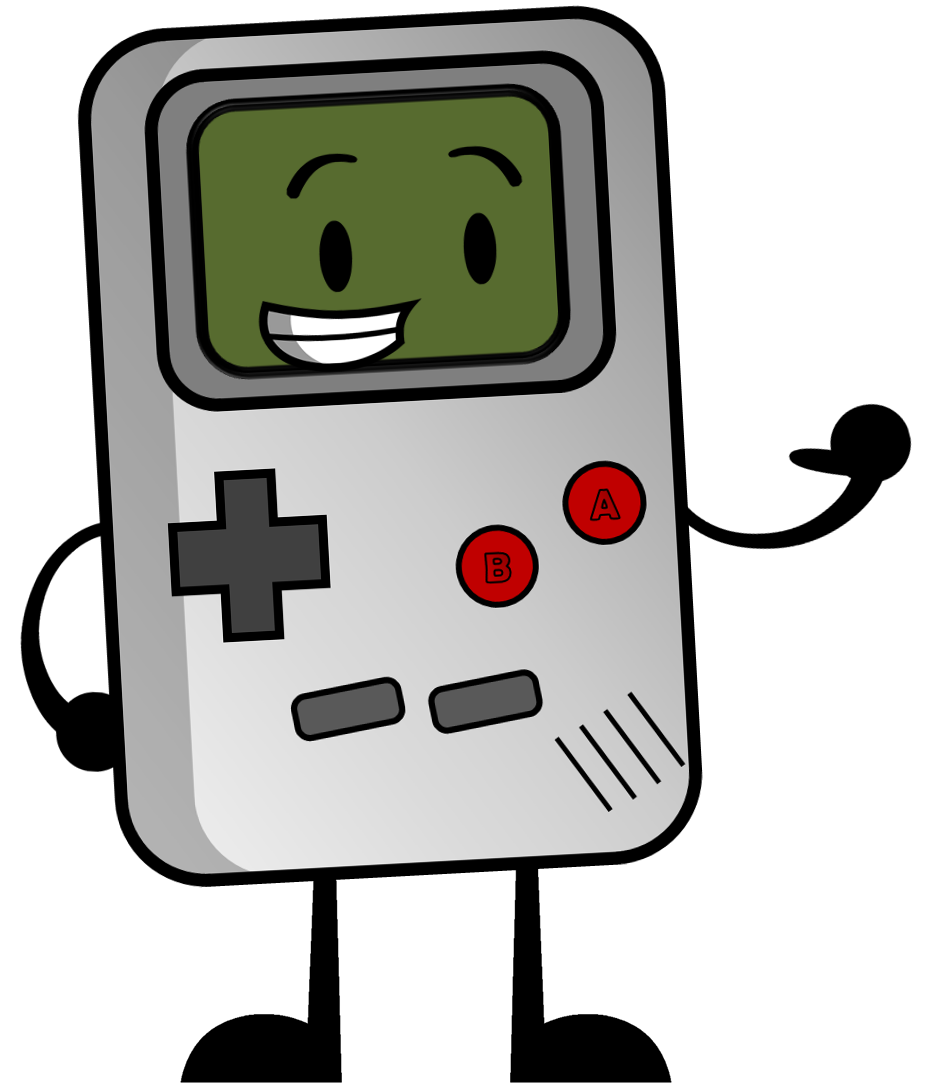 Image new bfck pose. Games clipart gameboy