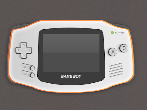 Games clipart gameboy. Free gameboys and vector