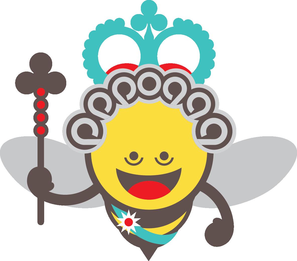 Games clipart group game. Queen mum beekeeper an