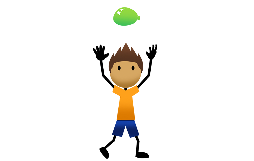 Active for life helps. Pe clipart underhand throw