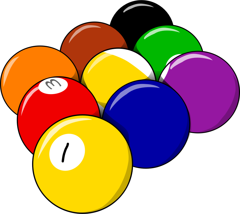 Image for balls sport. Games clipart recreation