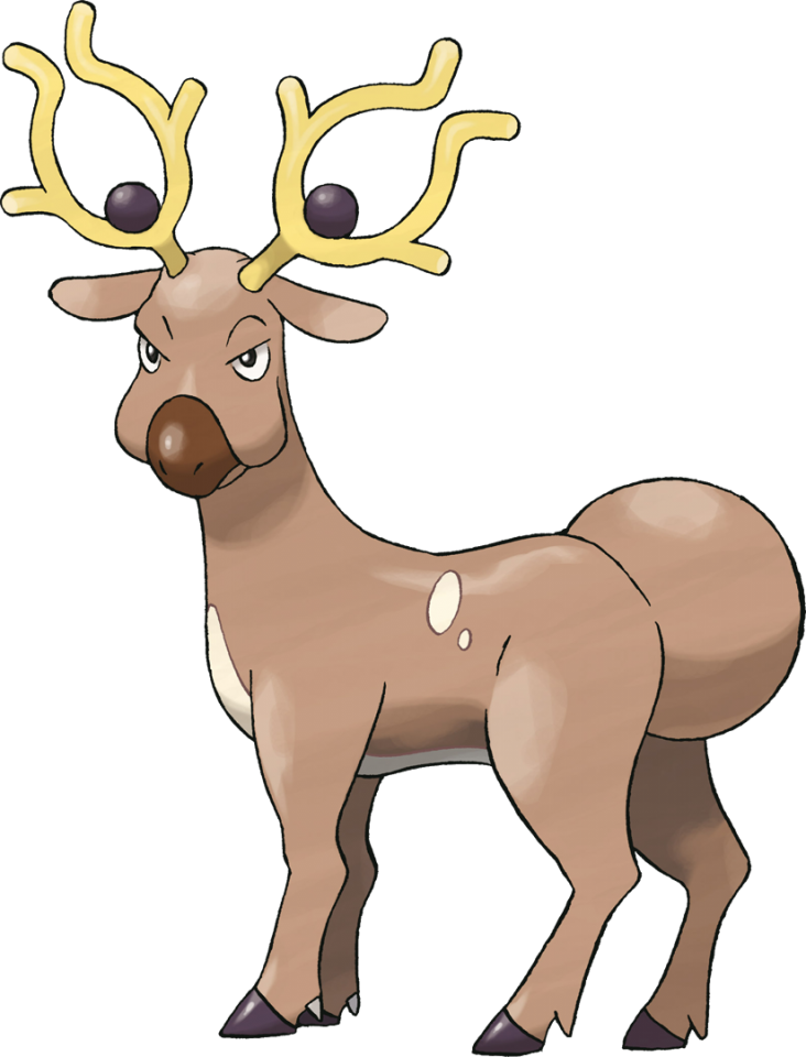 Games clipart reindeer game. Stantler concept giant bomb