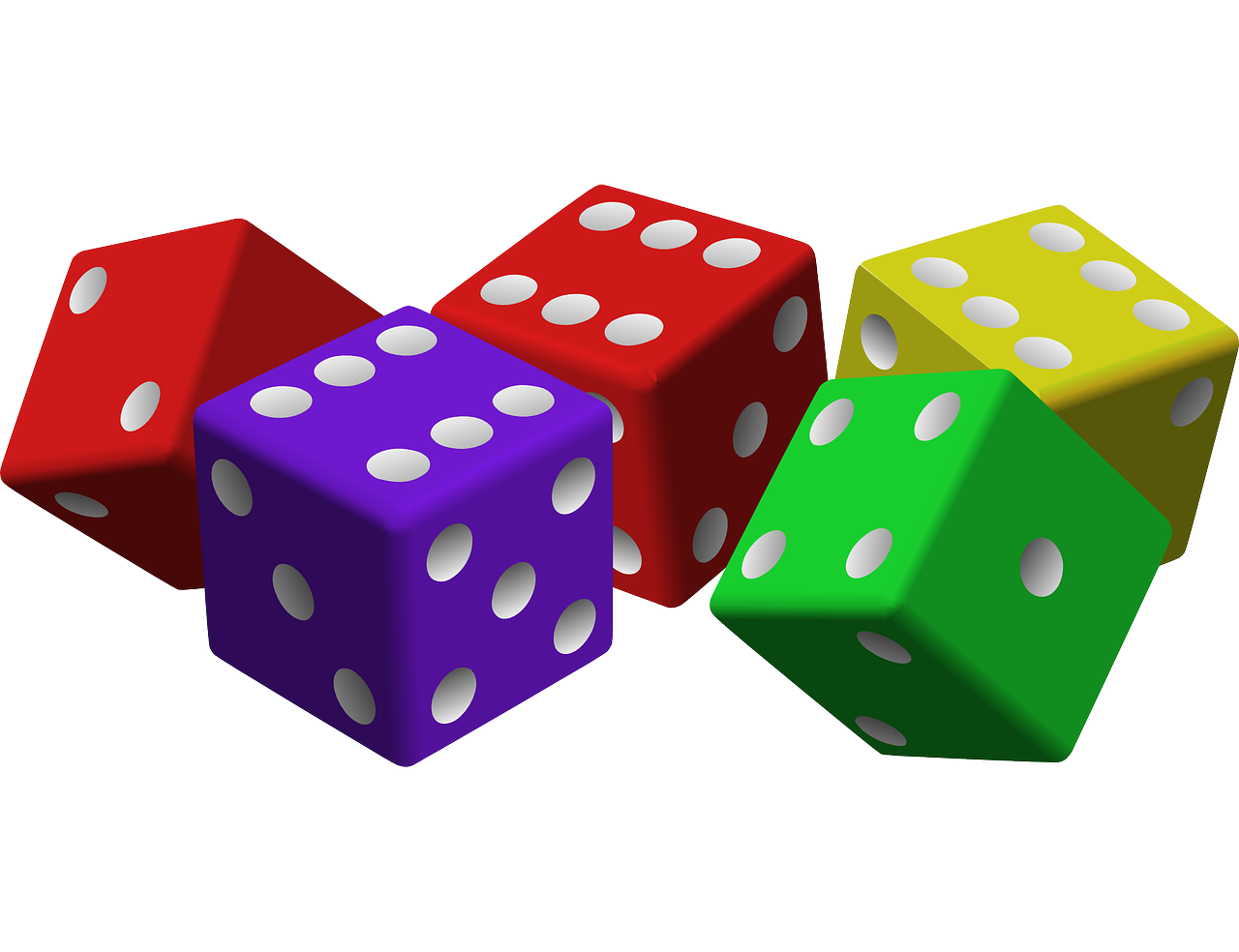 Reinforcement learning for las. Gaming clipart roll dice